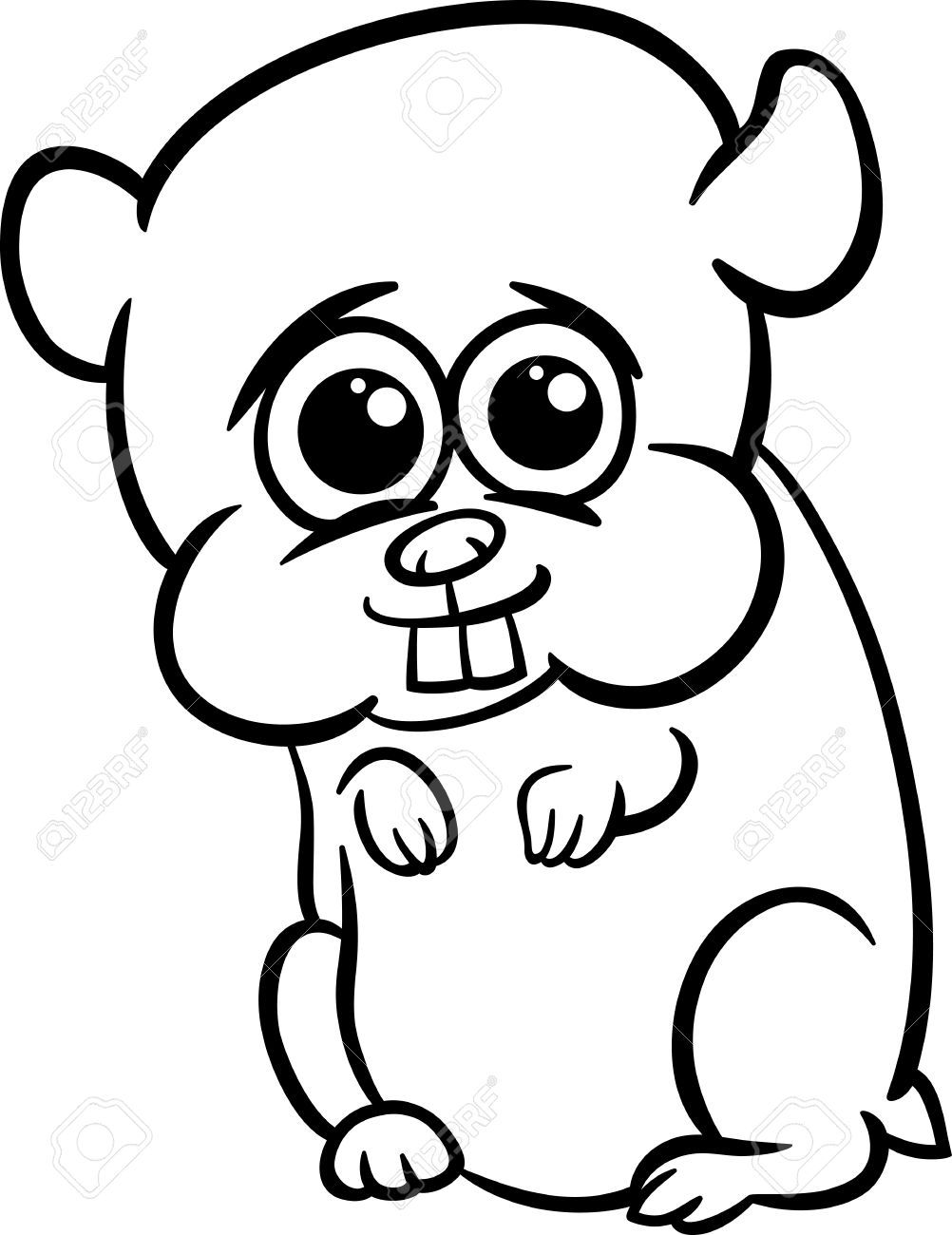 Outstanding Baby Hamster Coloring Pages Ensign - Coloring Paper ...