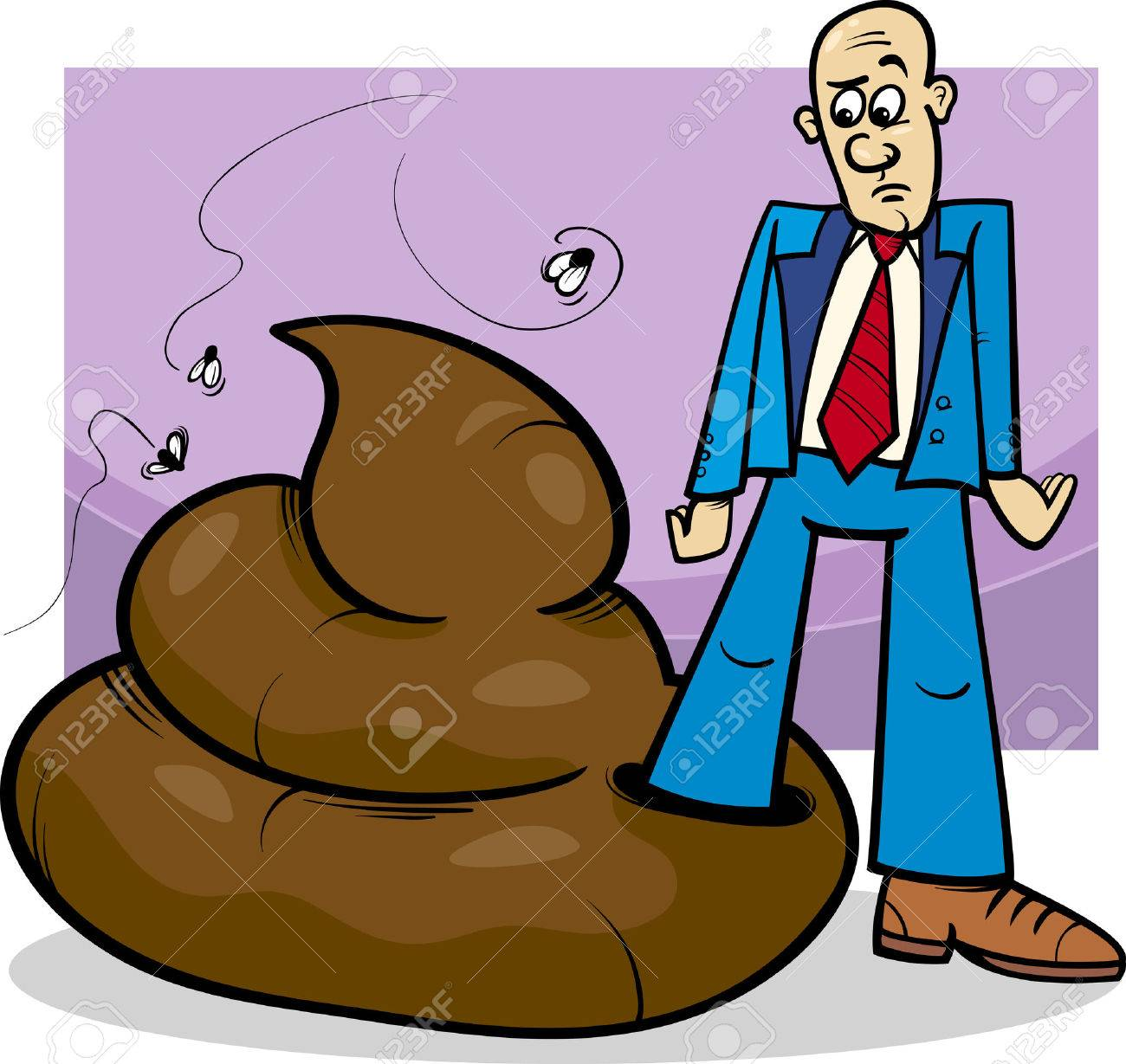 Image result for image of person laying in a pile of shit