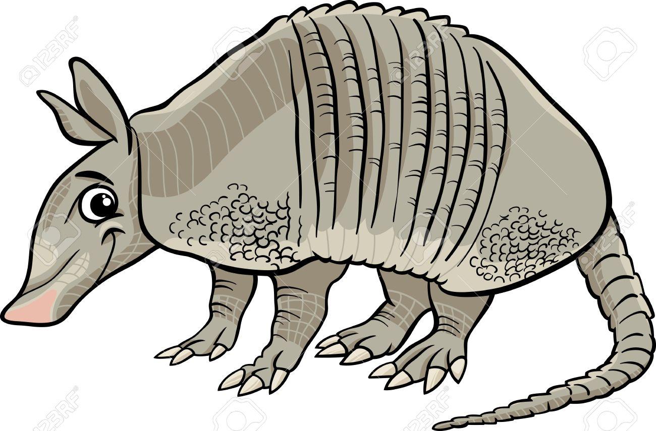 cartoon illustration of cute armadillo animal royalty free cliparts rh 123rf com armadillo clipart black and white armadillo clipart images