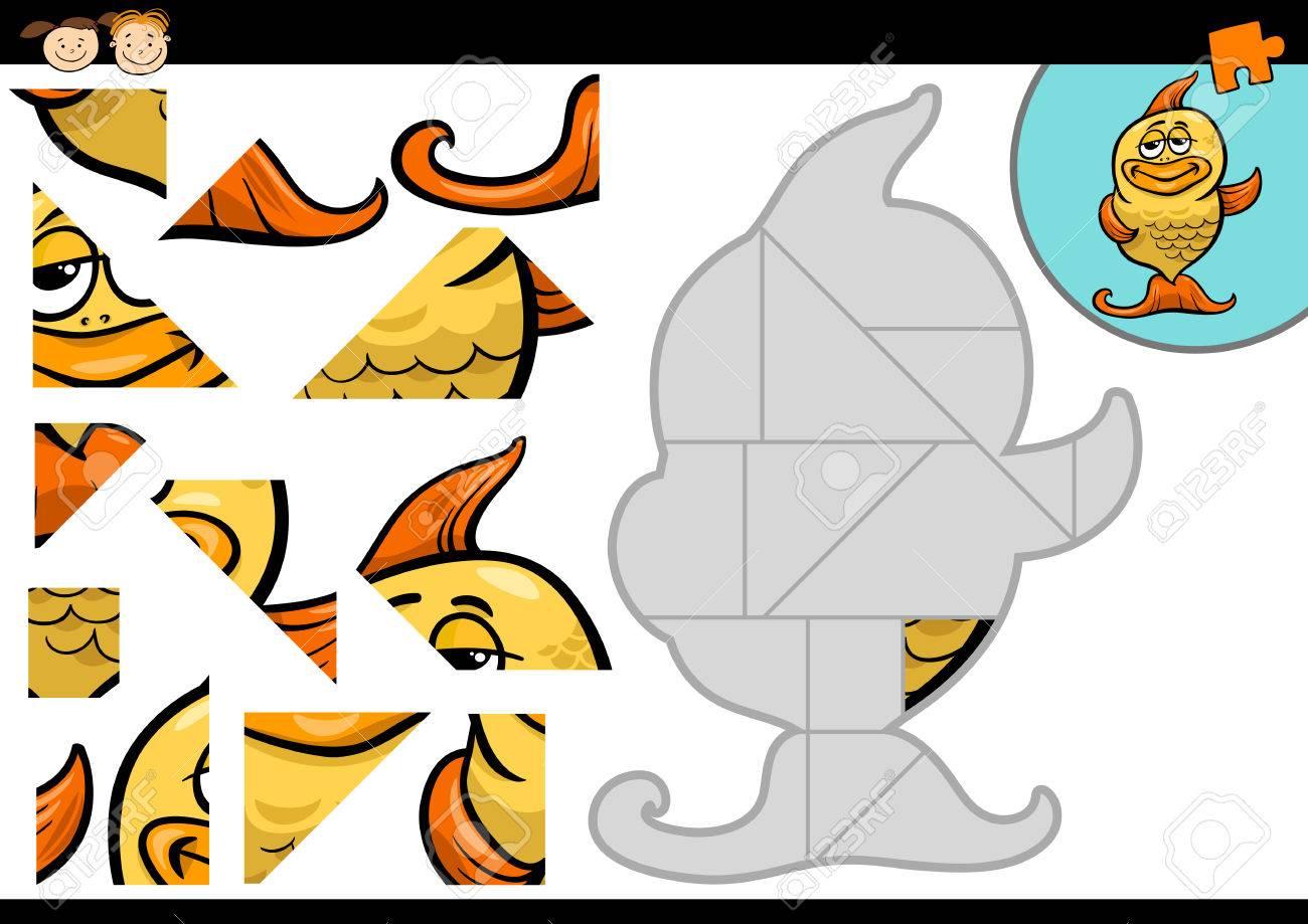 ジグソーパズル 動物 イラスト | 7331 イラス