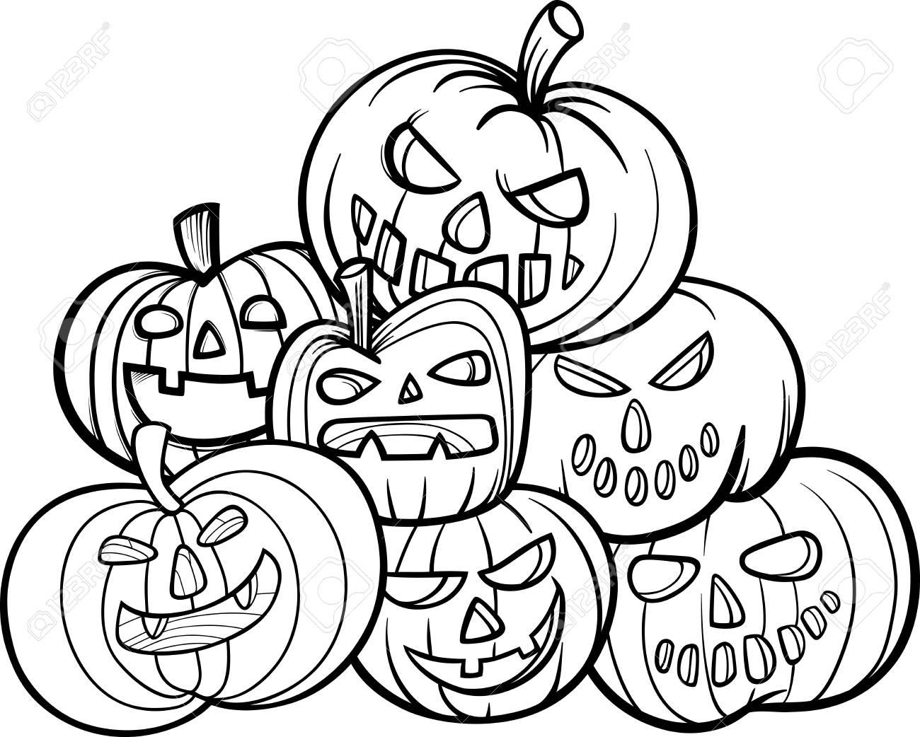 Kürbis Ausmalbilder Halloween : Nett Malbuch K Rbis Fotos Framing Malvorlagen Thehomeloansinfo Info