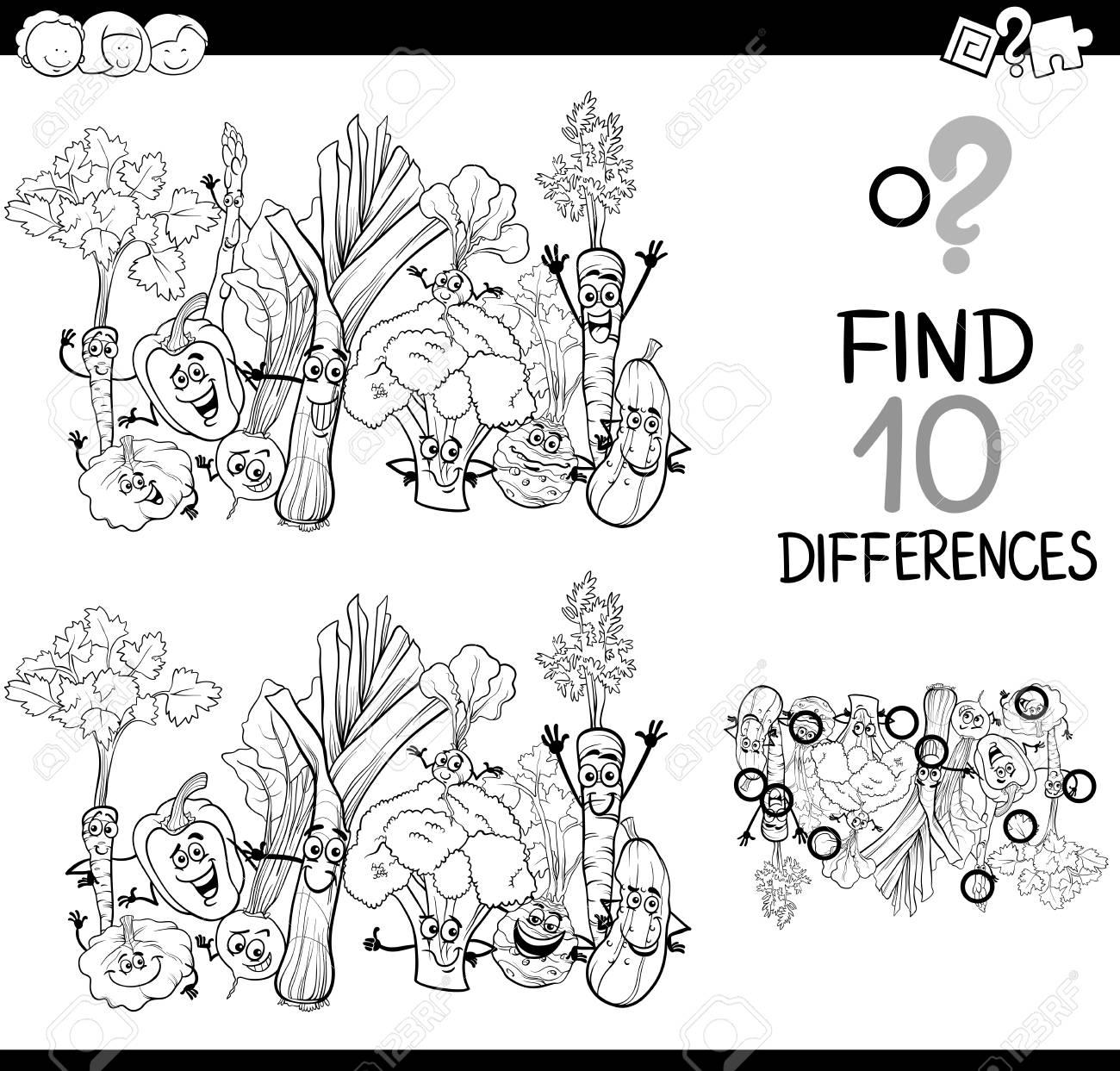 Ilustracao De Preto E Branco Dos Desenhos Animados De Encontrar