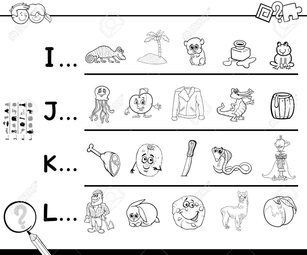 Schwarz-Weiß-Cartoon Illustration Der Suche Bilder Beginnend Mit ...