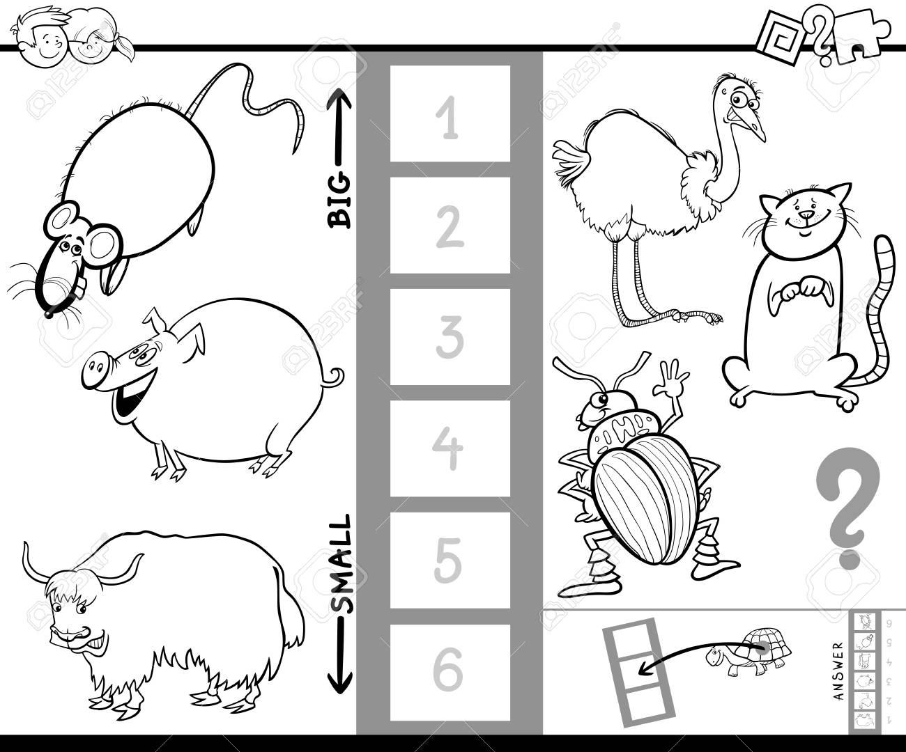 Ilustración De Dibujos Animados Blanco Y Negro De Juegos De