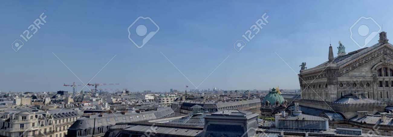 Paris Gran Panorama Desde La Terraza Galerías Lafayette