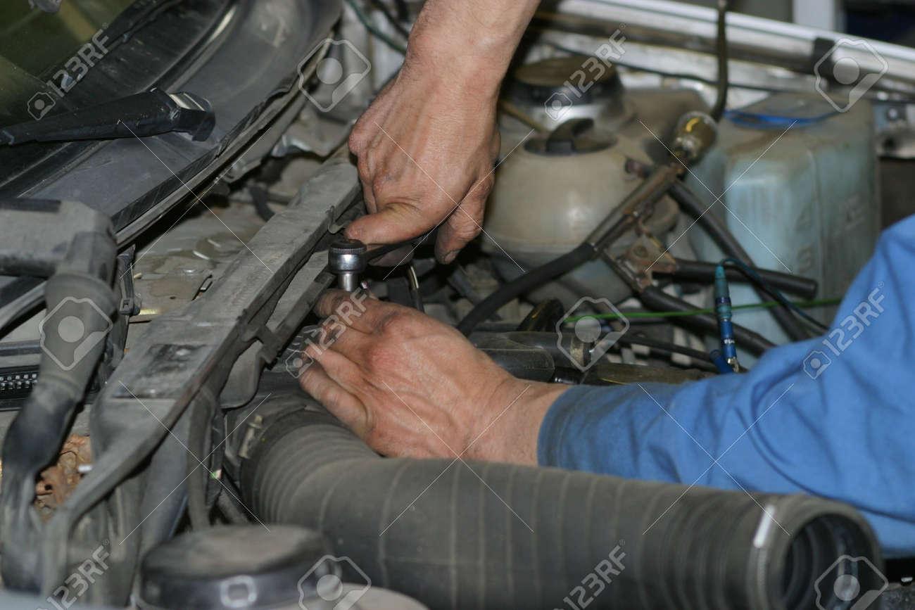 Auto service Stock Photo - 703543