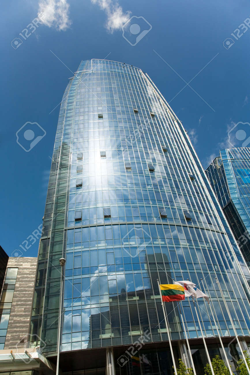 office centre and blue sky Stock Photo - 5016789