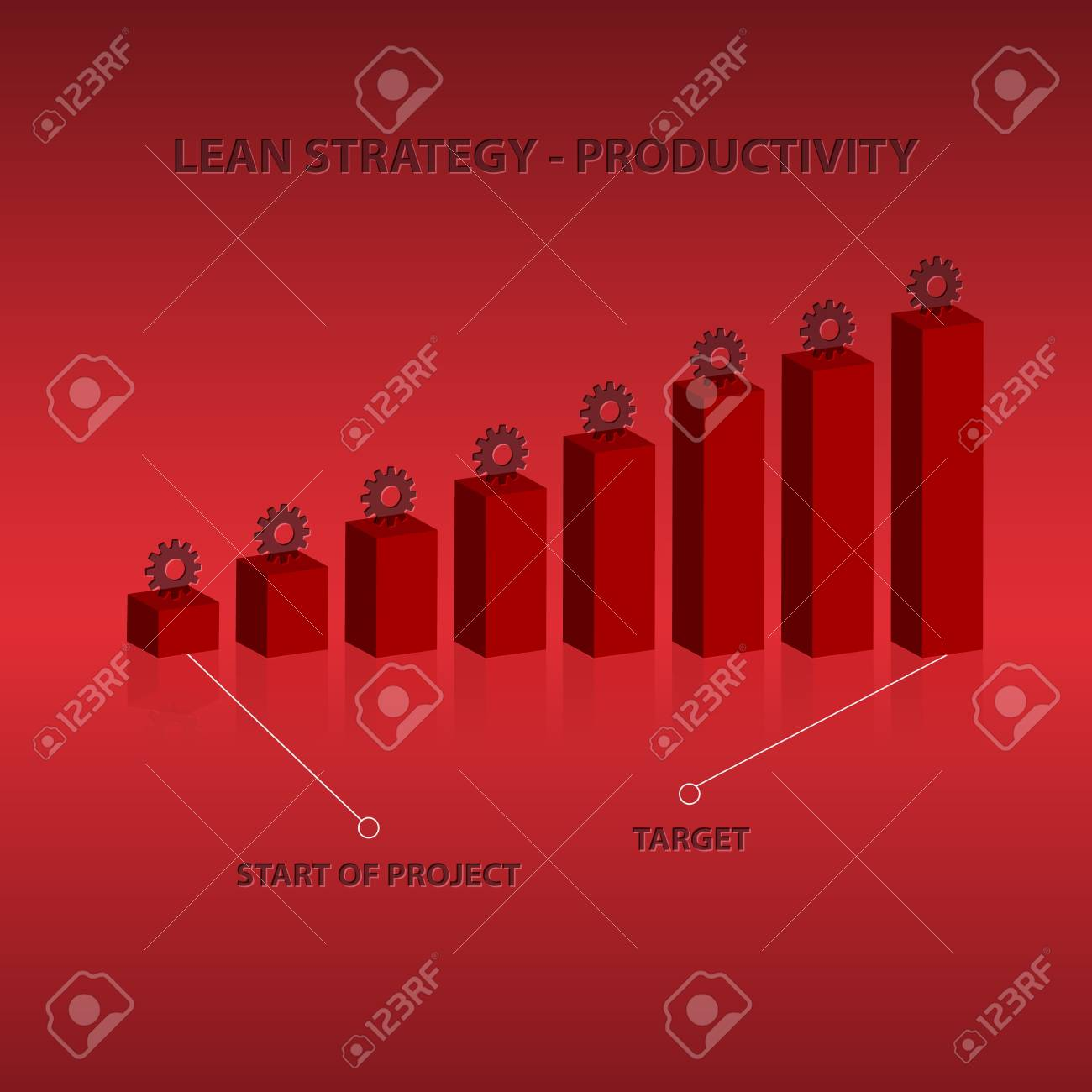 About Productivity stock illustration