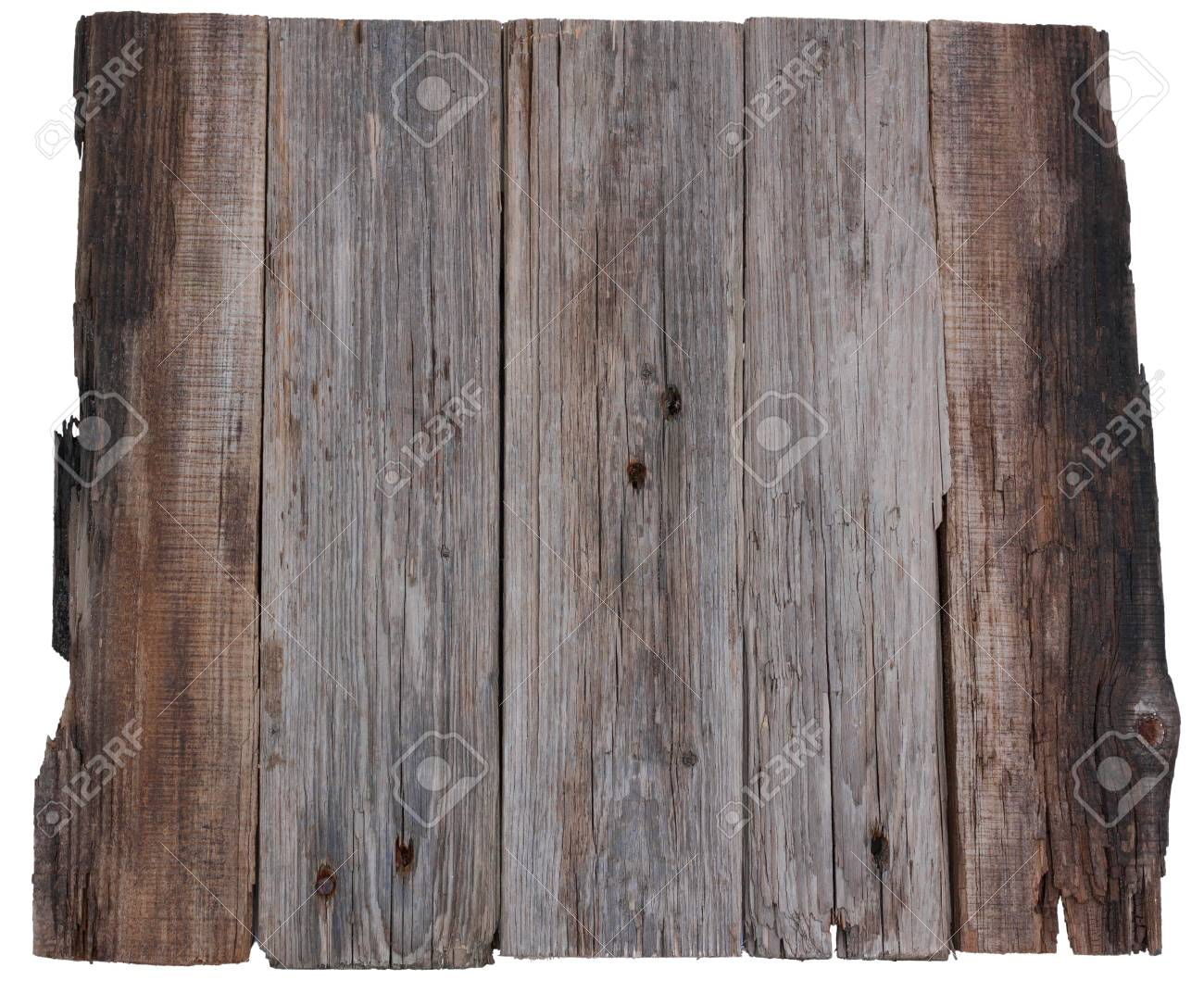 Uitgelezene Houten Plank Oude Planken Geïsoleerde Witte Achtergrond Royalty XF-32