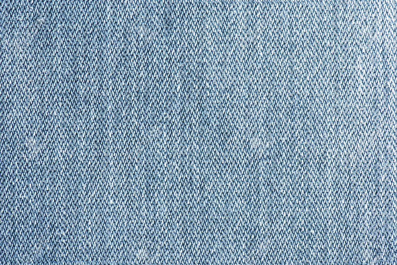 Blue Denim Texture N Close-up Stock Photo, Picture And Royalty ...