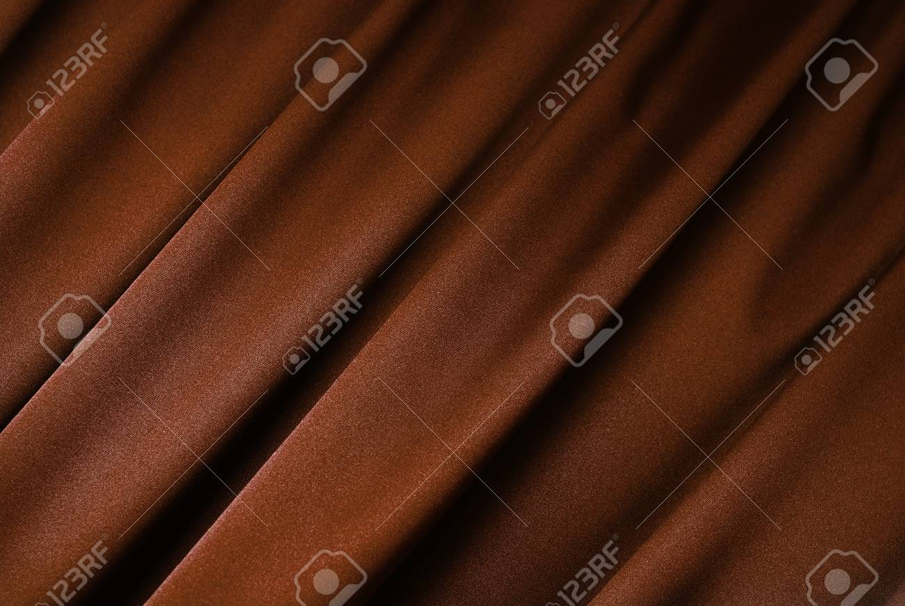 Brown curtain background Stock Photo - 4506551