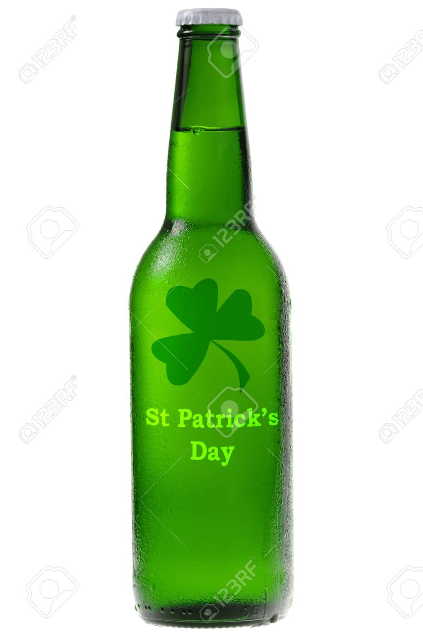 Green beer for St Patrick's Day Stock Photo - 6384911