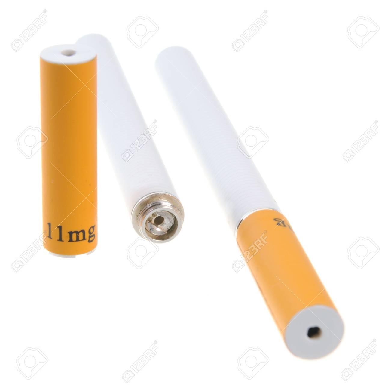 Electronic cigarette isolated on white background Stock Photo - 6384918