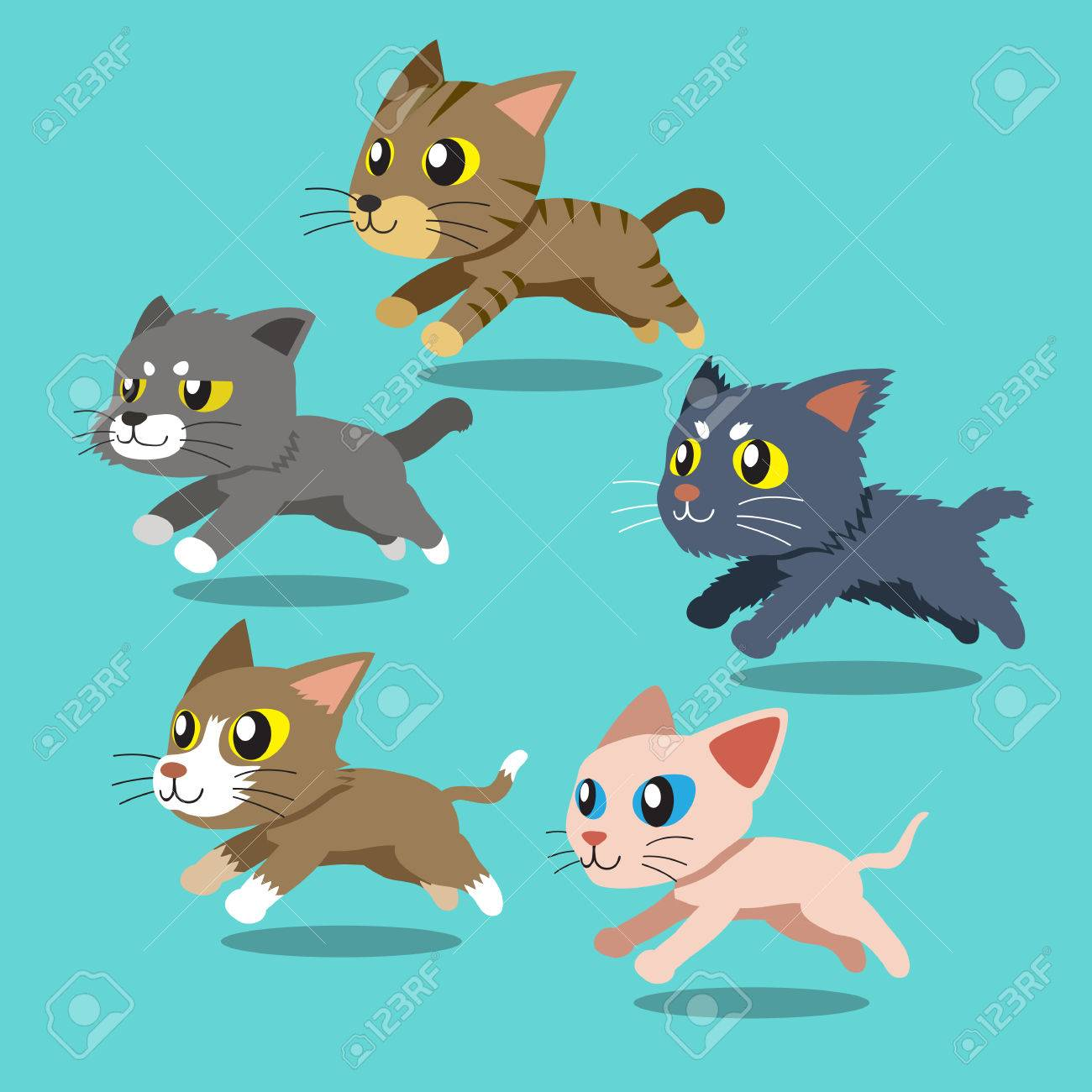 A Running Three Eyed Cat, Cat, Kitten, Three Cat PNG Transparent Clipart  Image and PSD File for Free Download