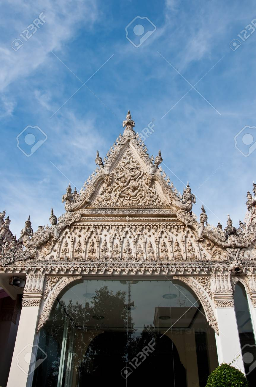 Phetchaburi Temple Stock Photo - 8644696