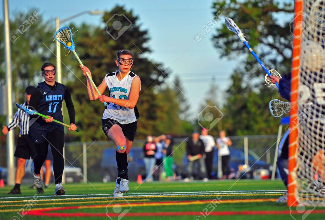 May 18, 2010. OGLA (Oregon Girls Lacrosse Association) Hillsboro Stock Photo - 10807496