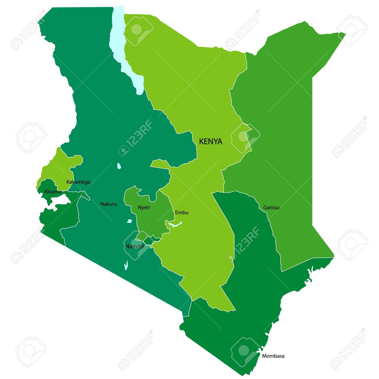 Kenya Stock Vector - 14703274