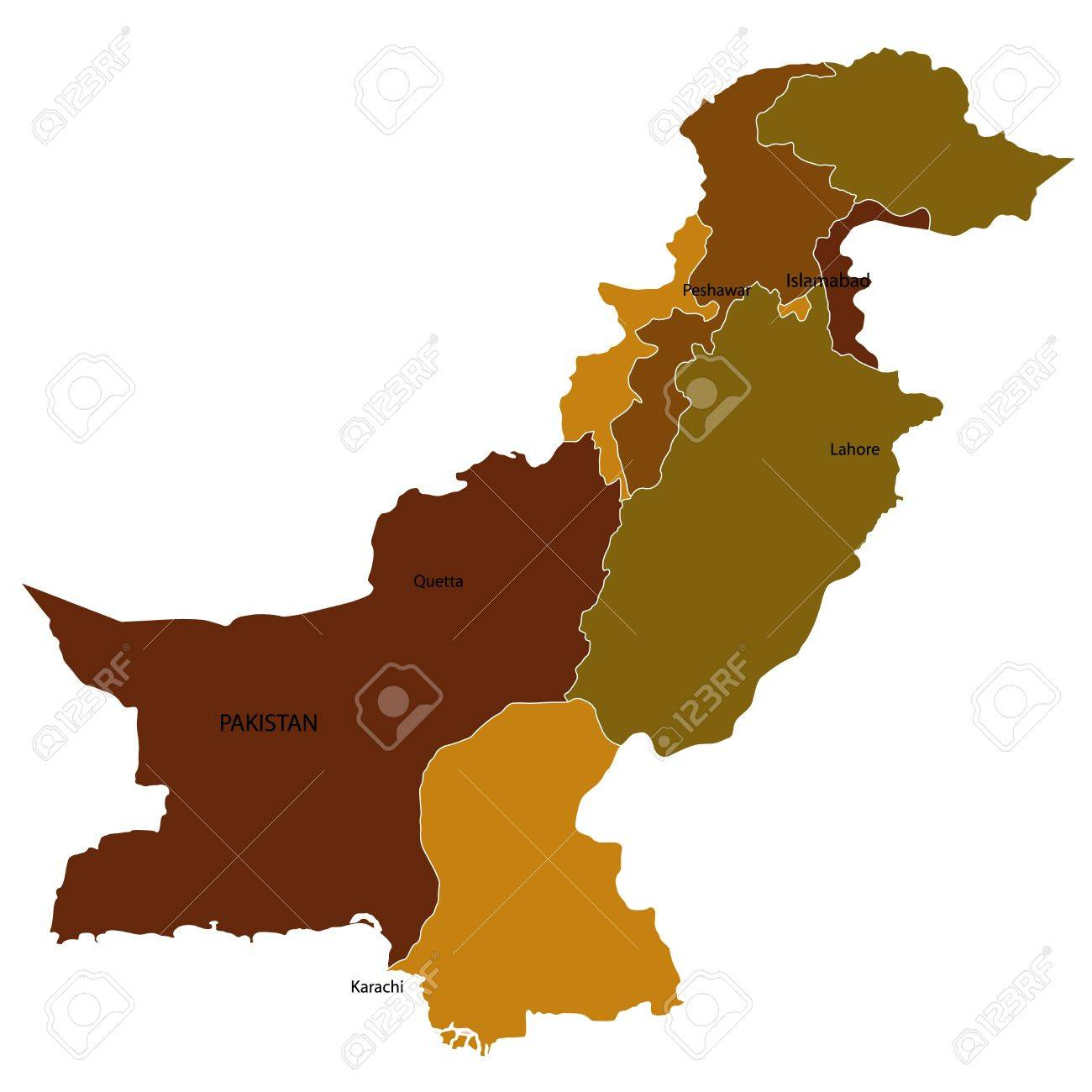 Pakistan Stock Vector - 14844143