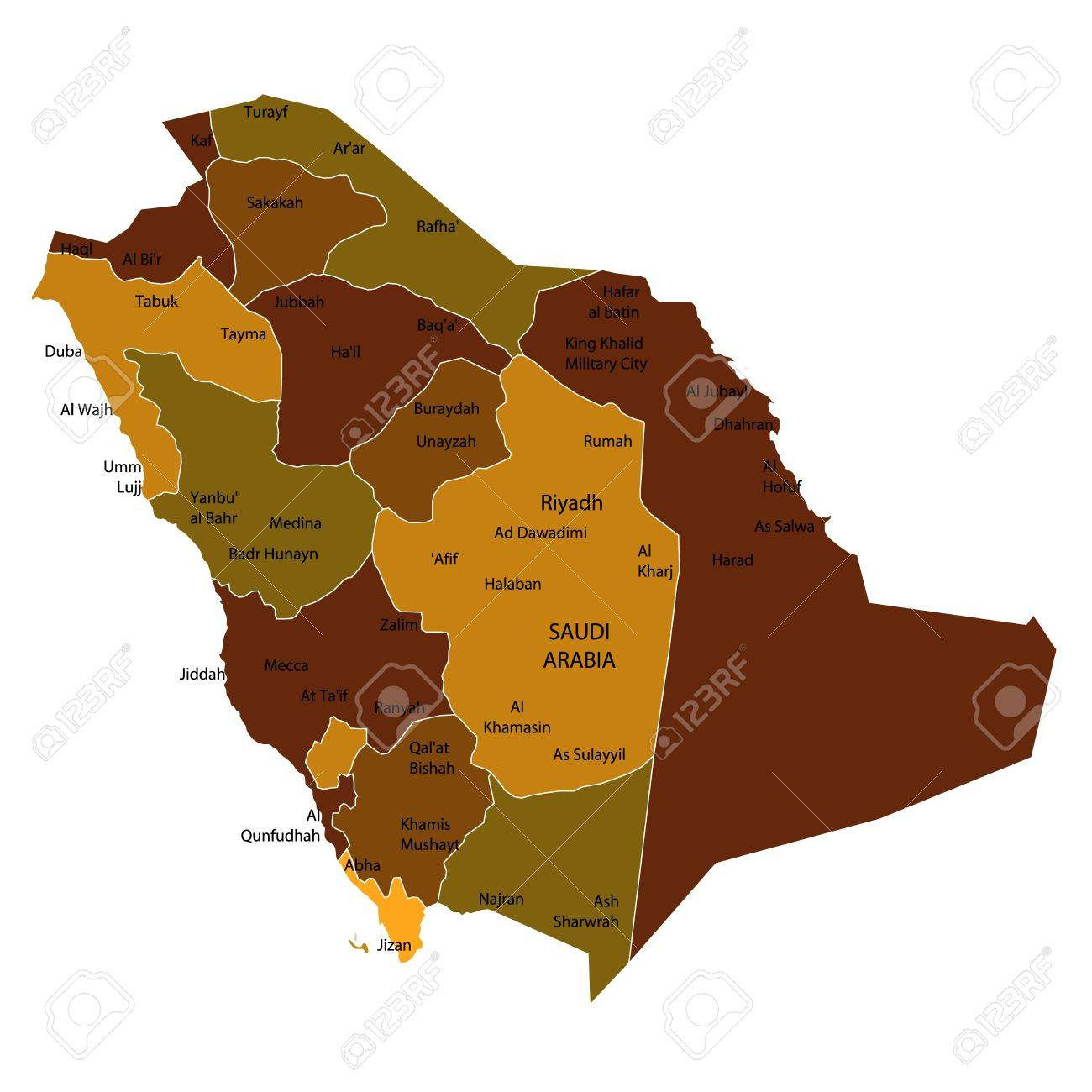 Saudi Arabia Stock Vector - 14844163