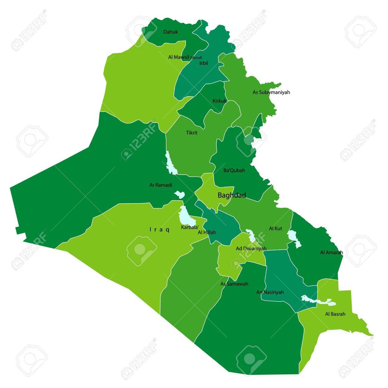 iraq Stock Vector - 14891412