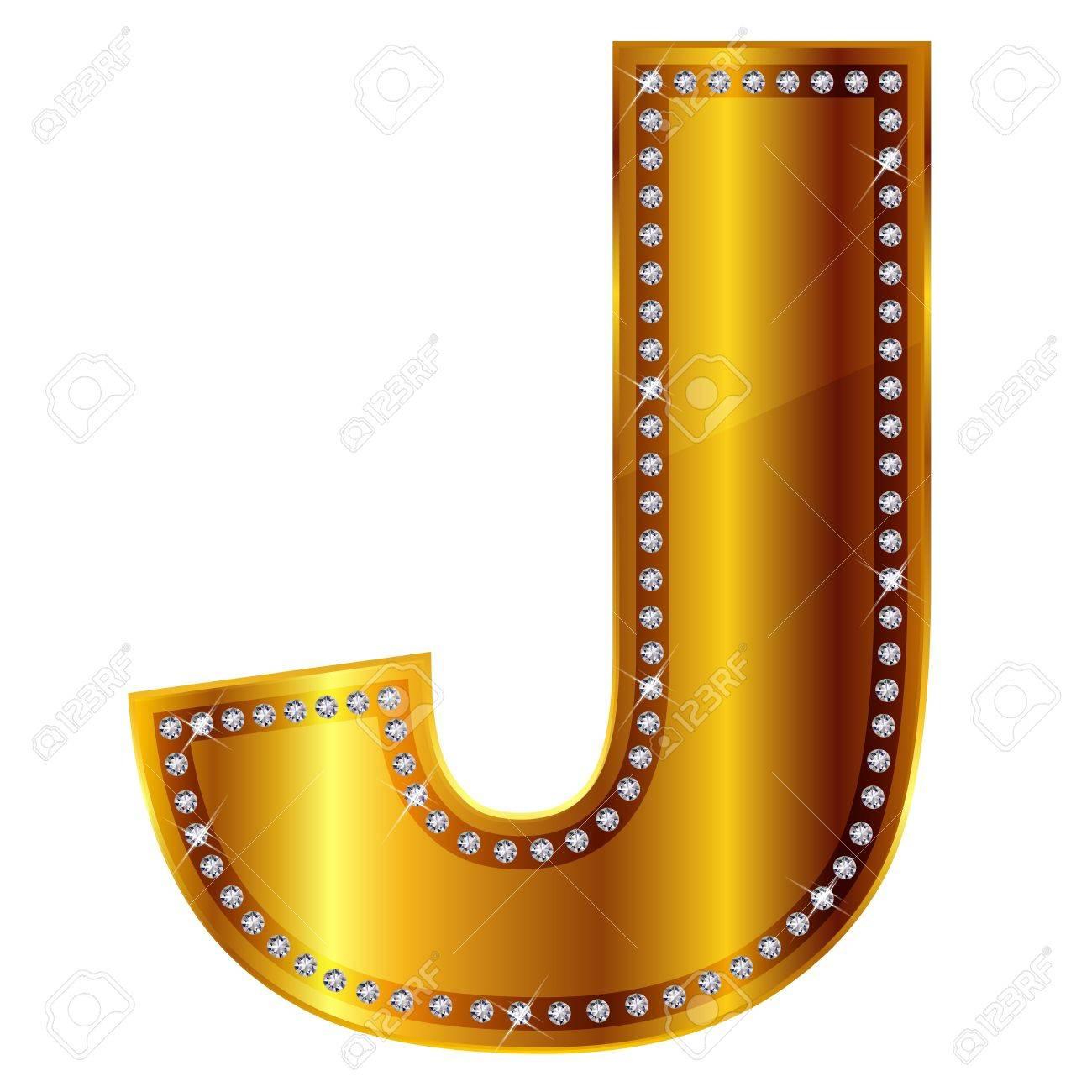 J Stock Vector - 15077943
