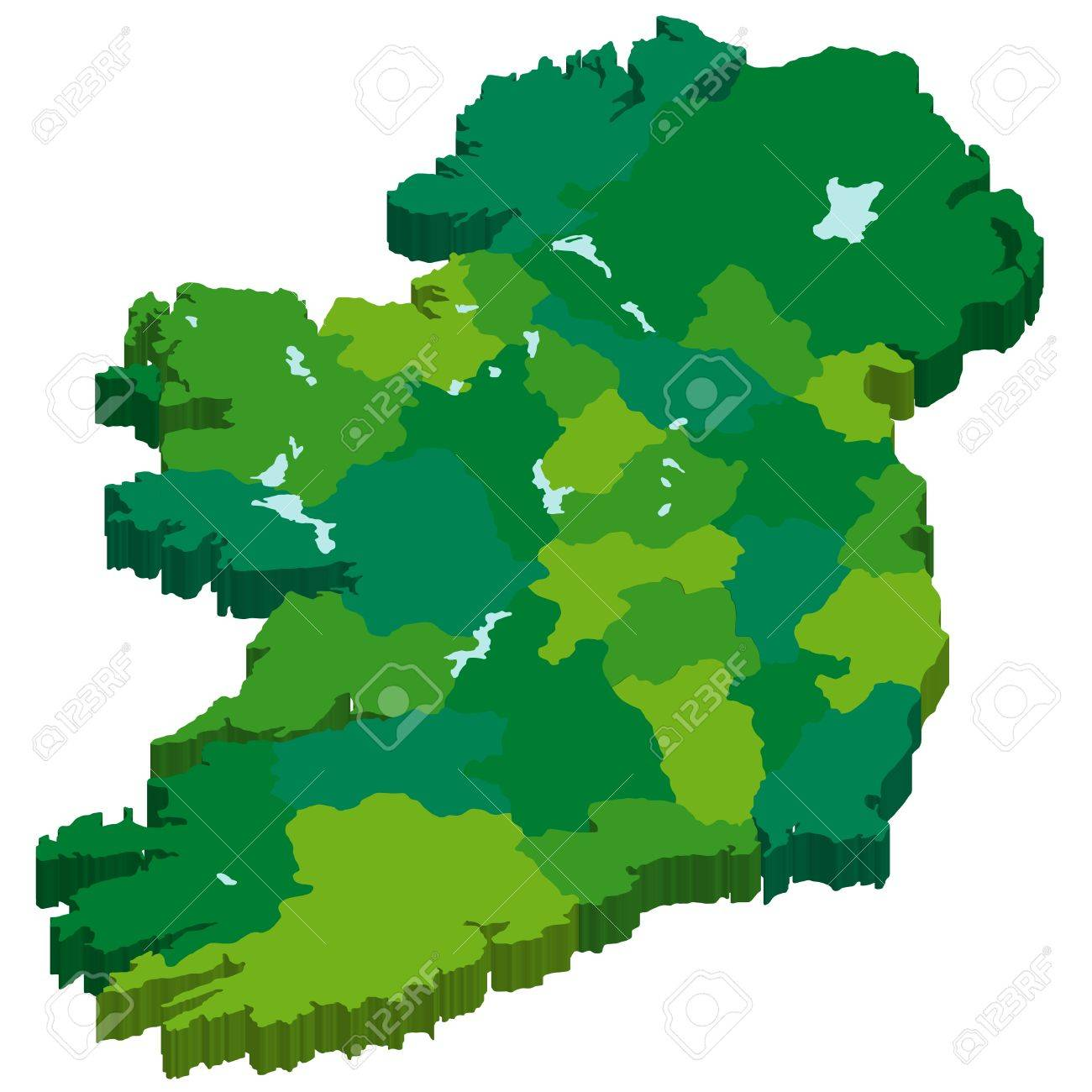 Ireland Stock Vector - 17715216