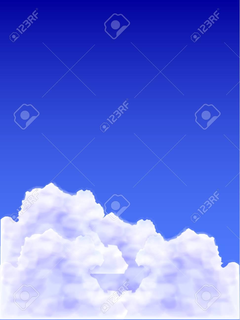 Sky background Stock Vector - 17861547