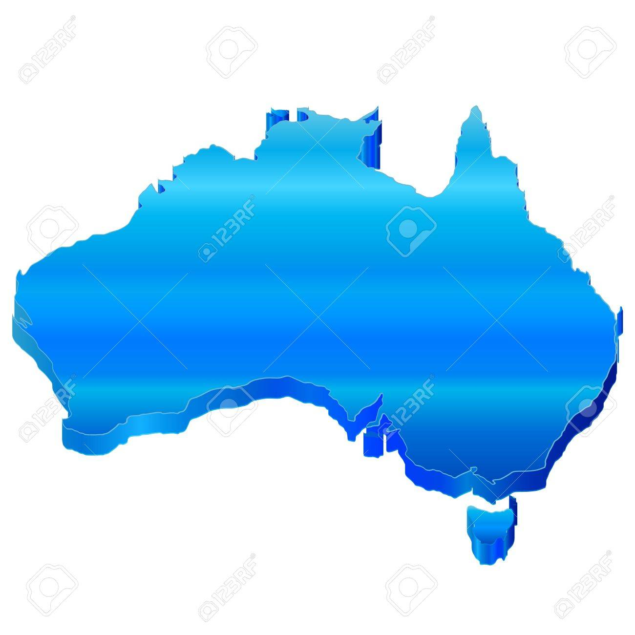 Free 3d Map Of Australia.Australia 3d Map