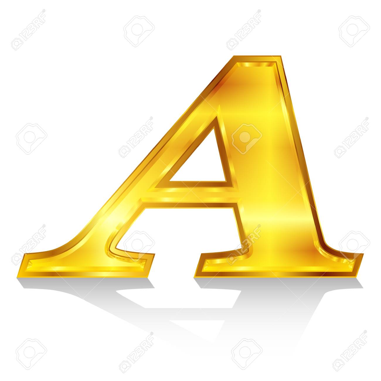 A emblem alphabet Stock Vector - 18869341