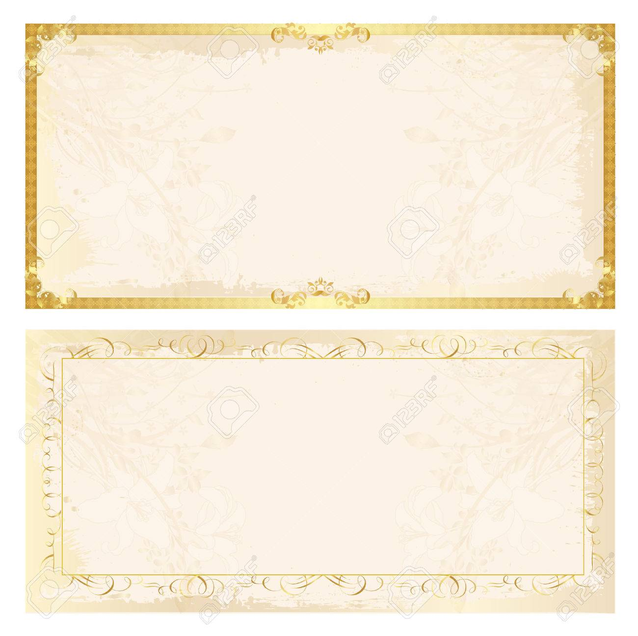 Certificate Frame Background Royalty Free Cliparts Vectors And