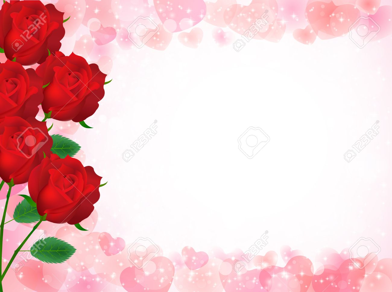 rose flower background royalty free cliparts vectors and stock