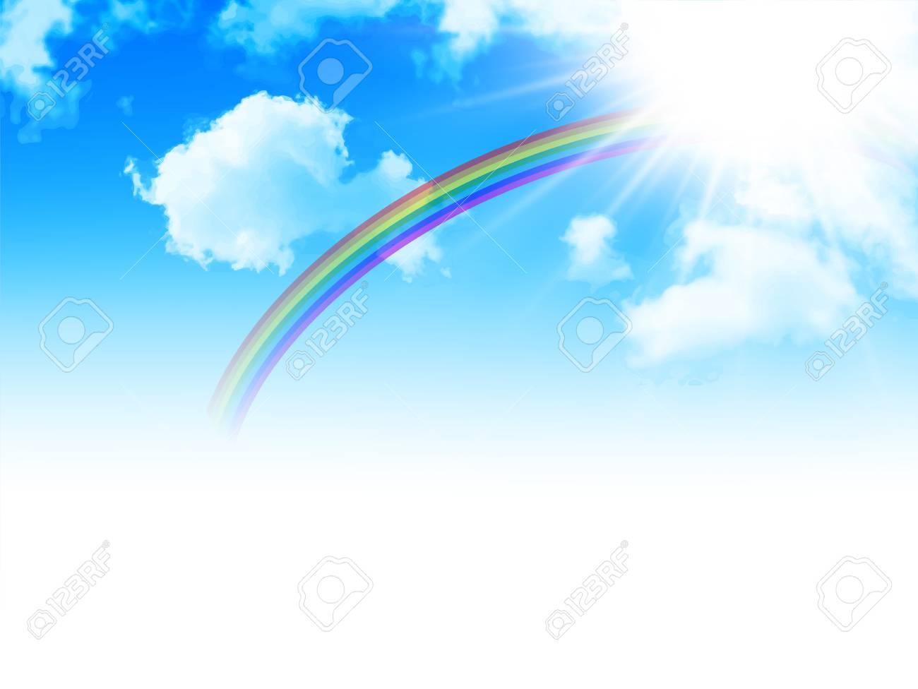 sky rainbow background royalty free cliparts vectors and stock rh 123rf com vector skyline vector skyline rotterdam