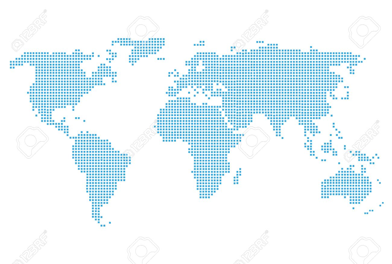 World Map Icon Royalty Free Cliparts, Vectors, And Stock