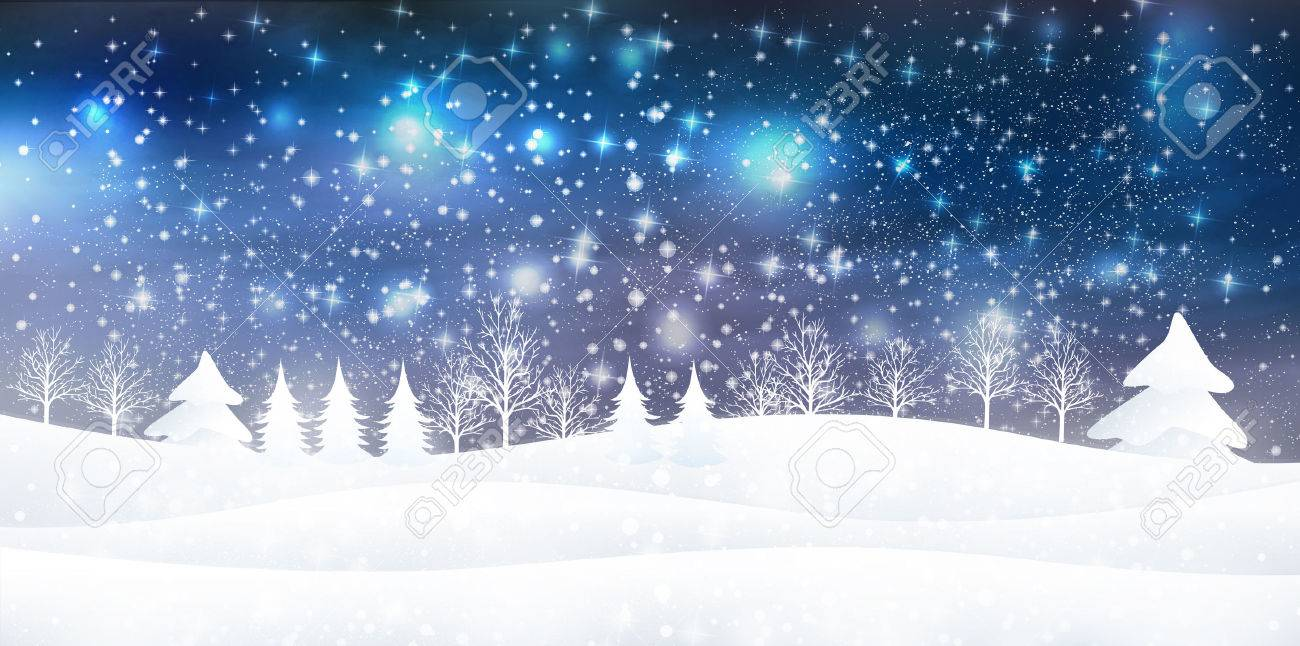 Snow On Christmas.Snow Christmas Background