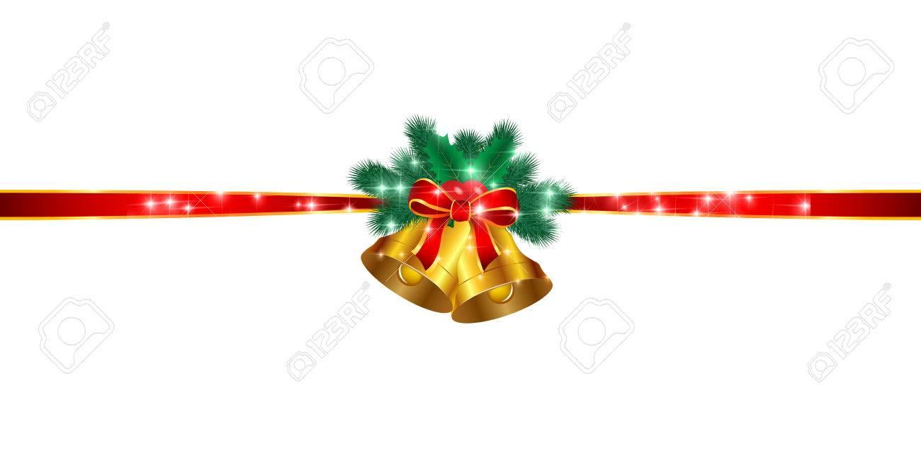 Christmas Ribbon.Christmas Ribbon Background