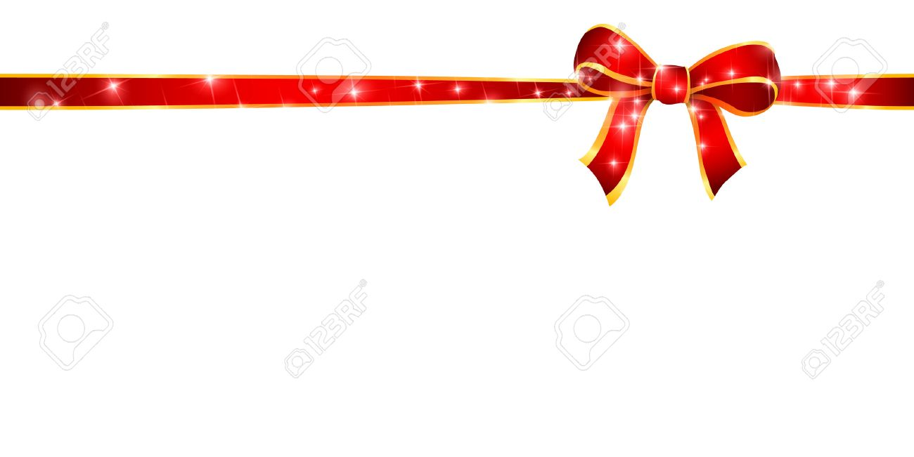 christmas ribbon background royalty free cliparts vectors and