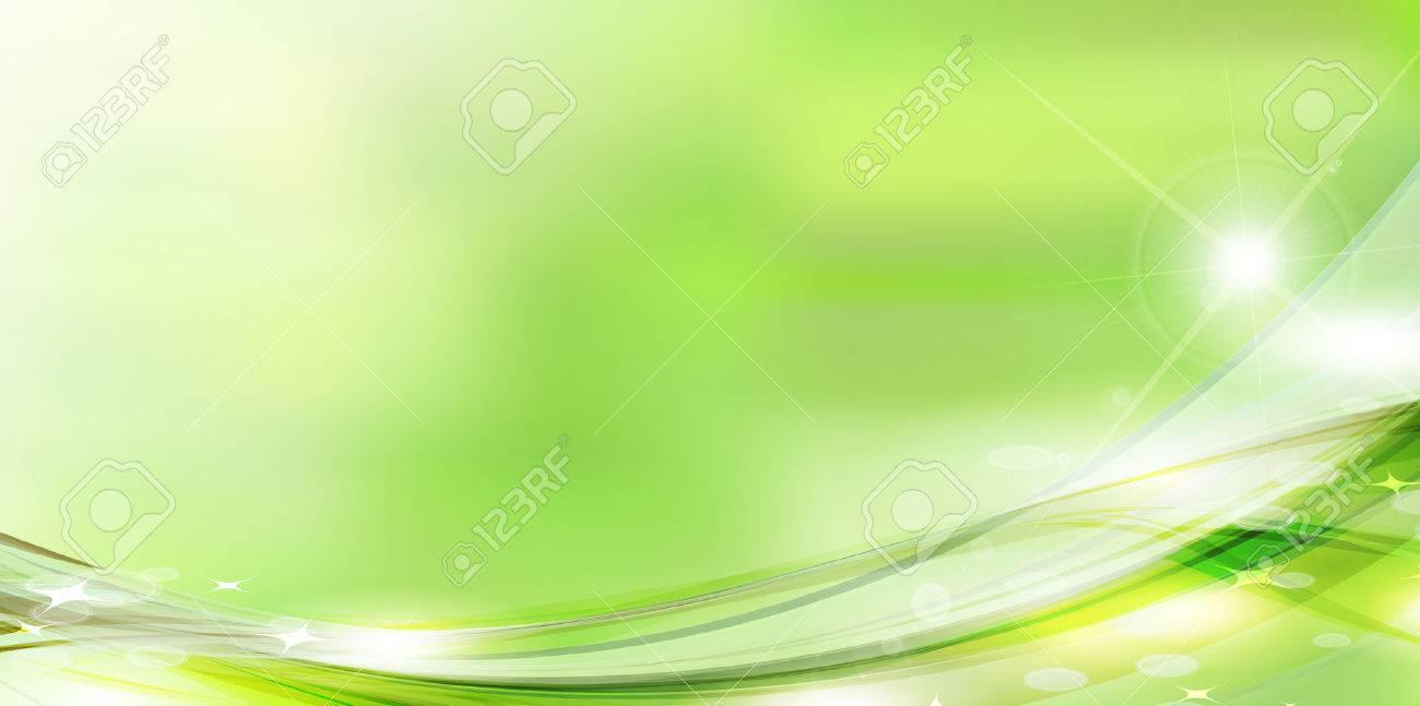 Fresh green green sky background - 52505116