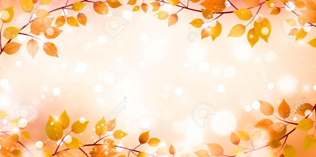 Autumn leaves autumn landscape background - 60228663