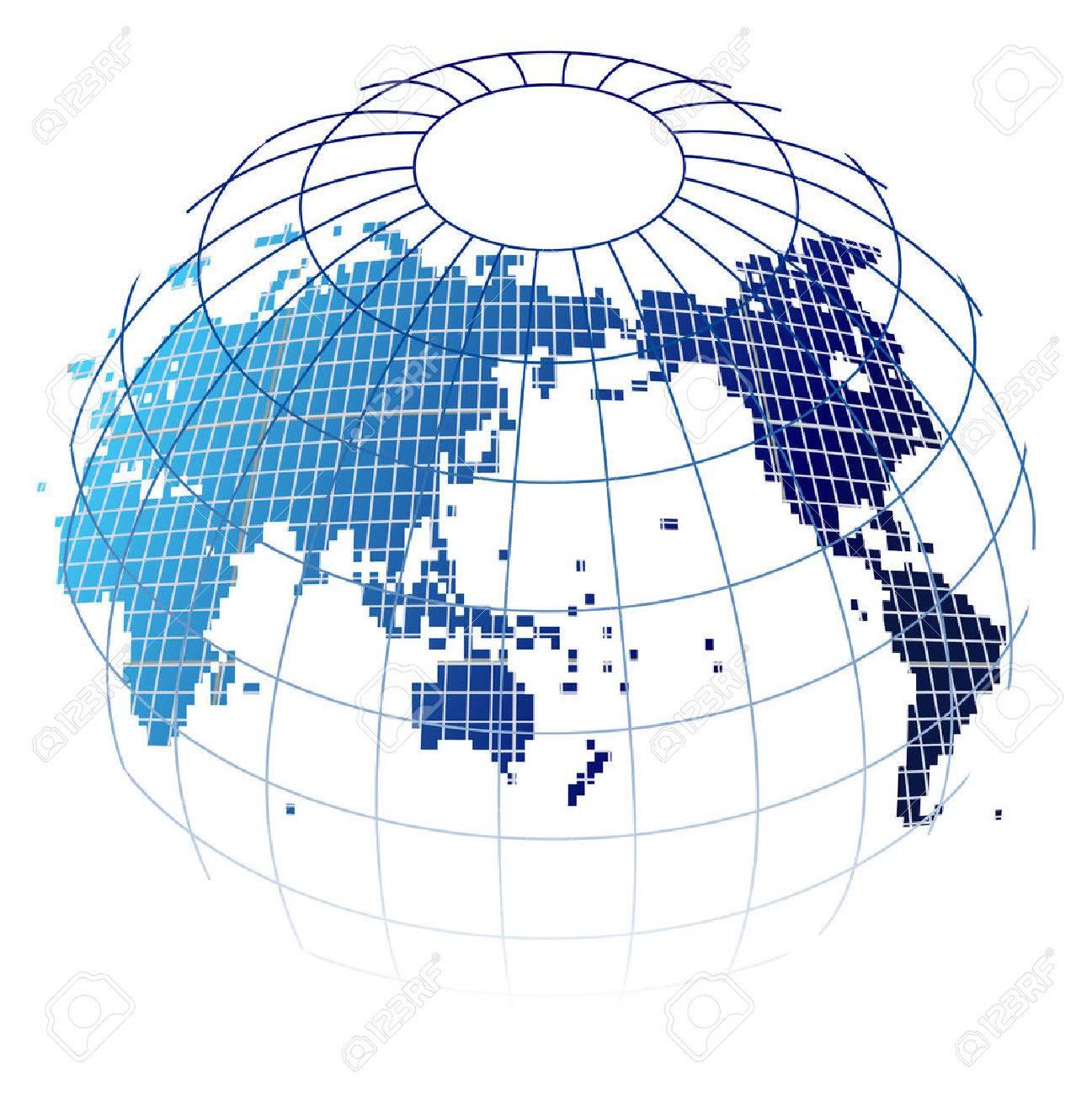 World map globe icon - 60649027