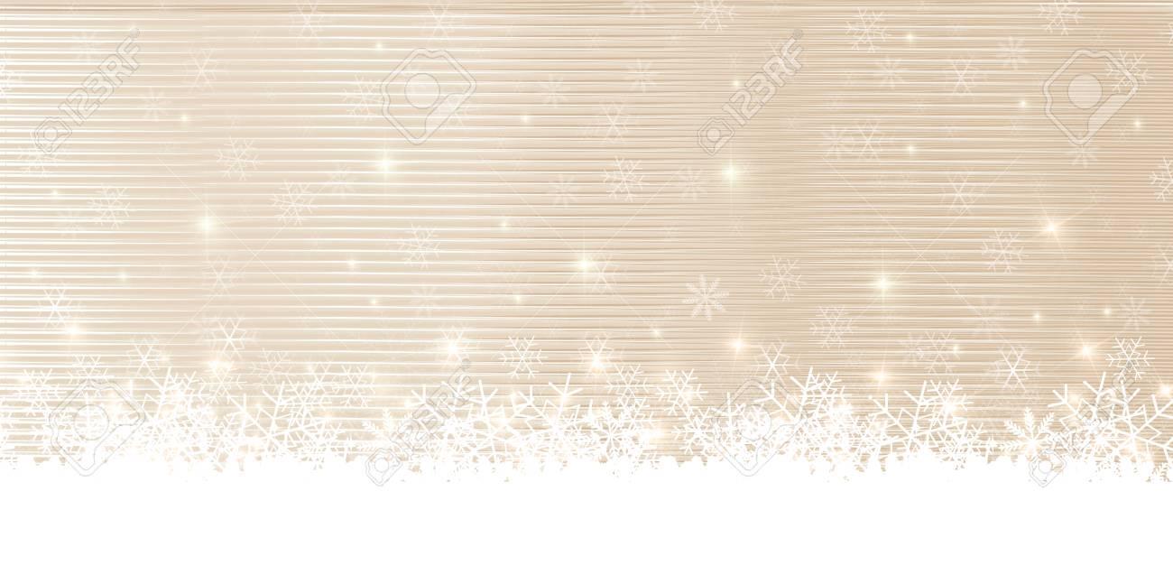 Christmas snow winter background - 64035941
