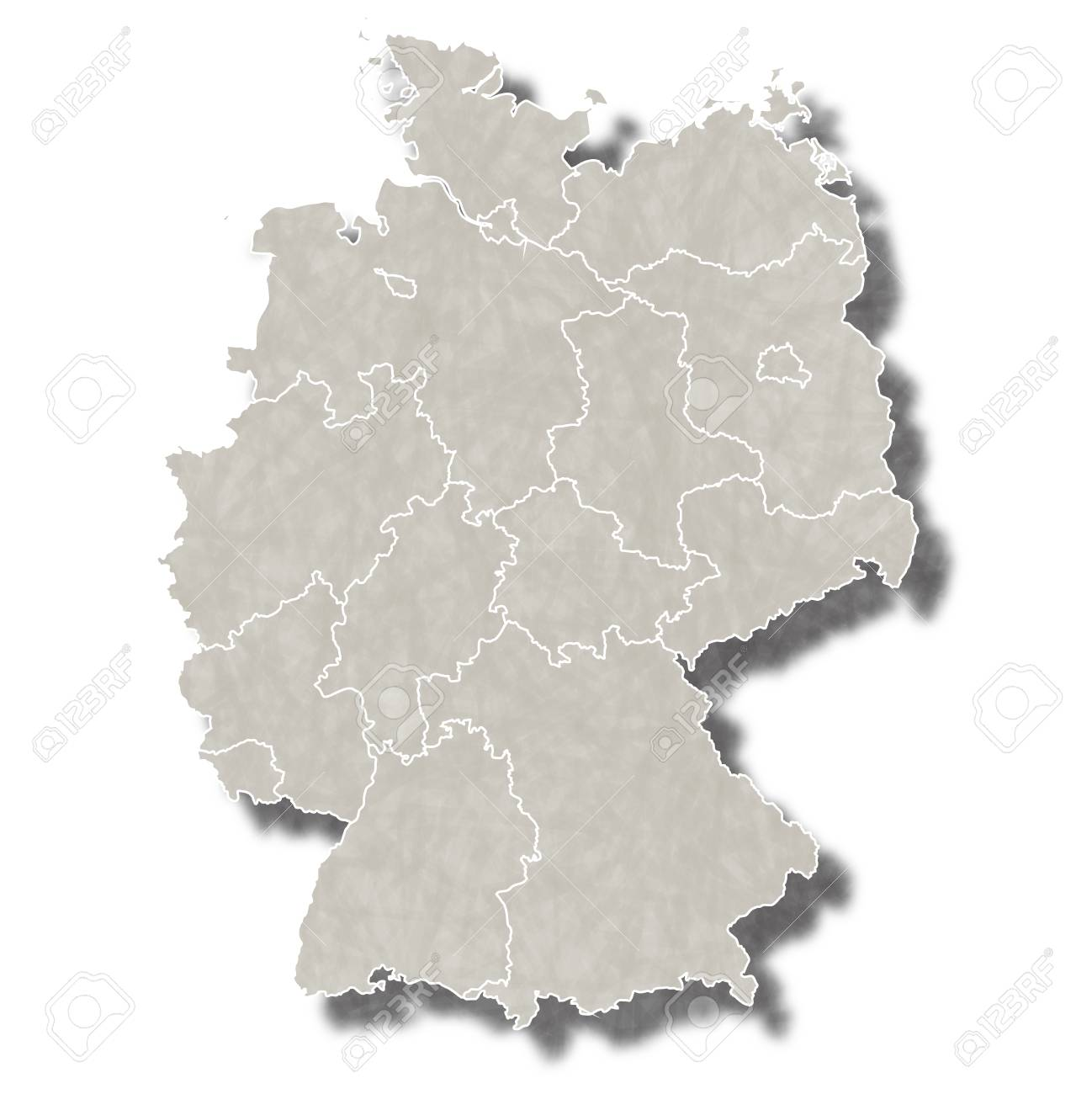 Germany map city icon - 69022366