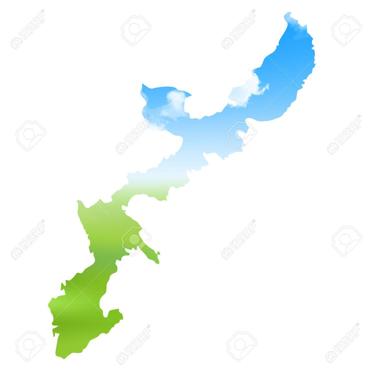Okinawa map landscape icon royalty free cliparts vectors and stock okinawa map landscape icon stock vector 76355571 gumiabroncs Images