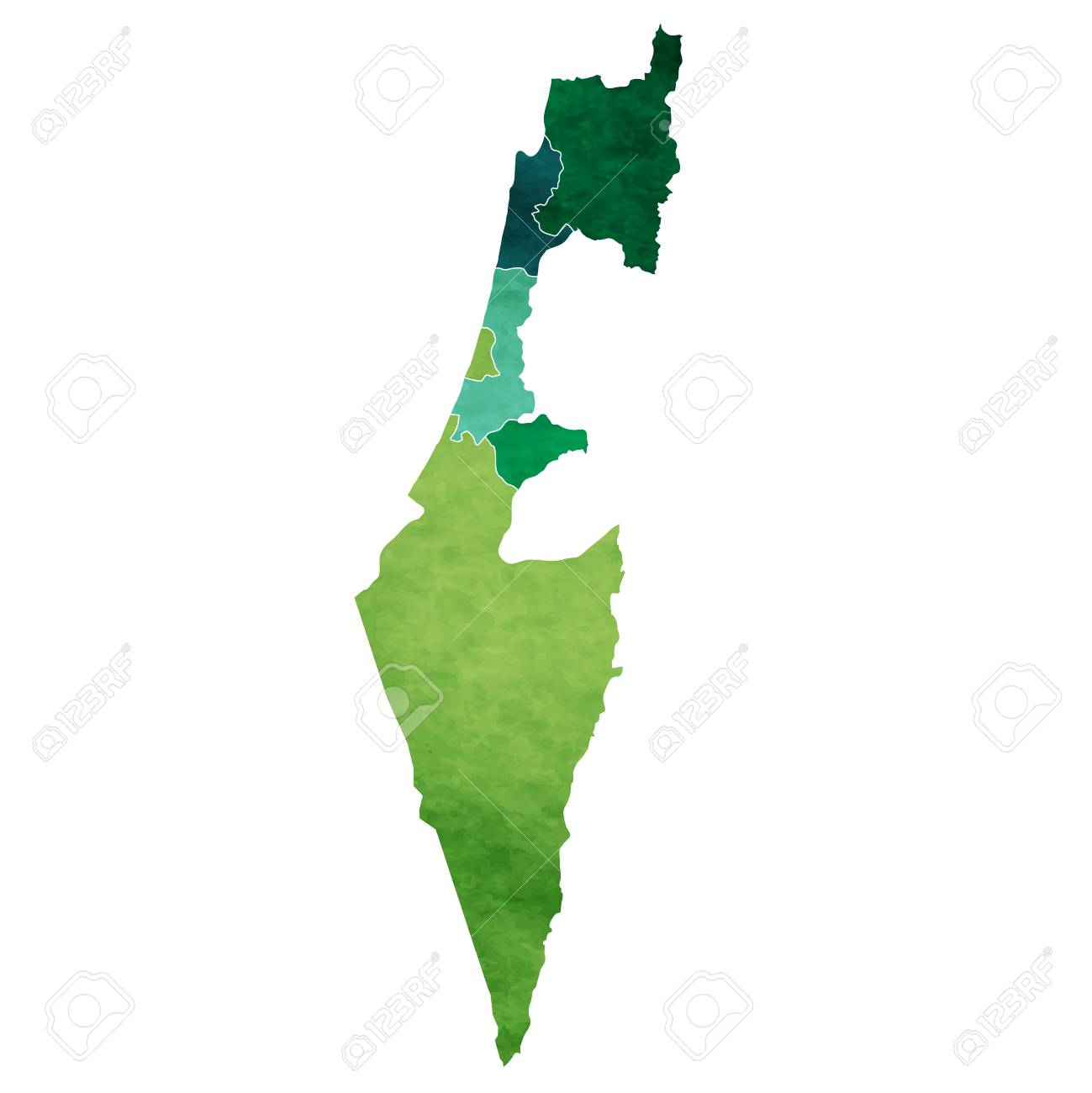 Israel World map country icon