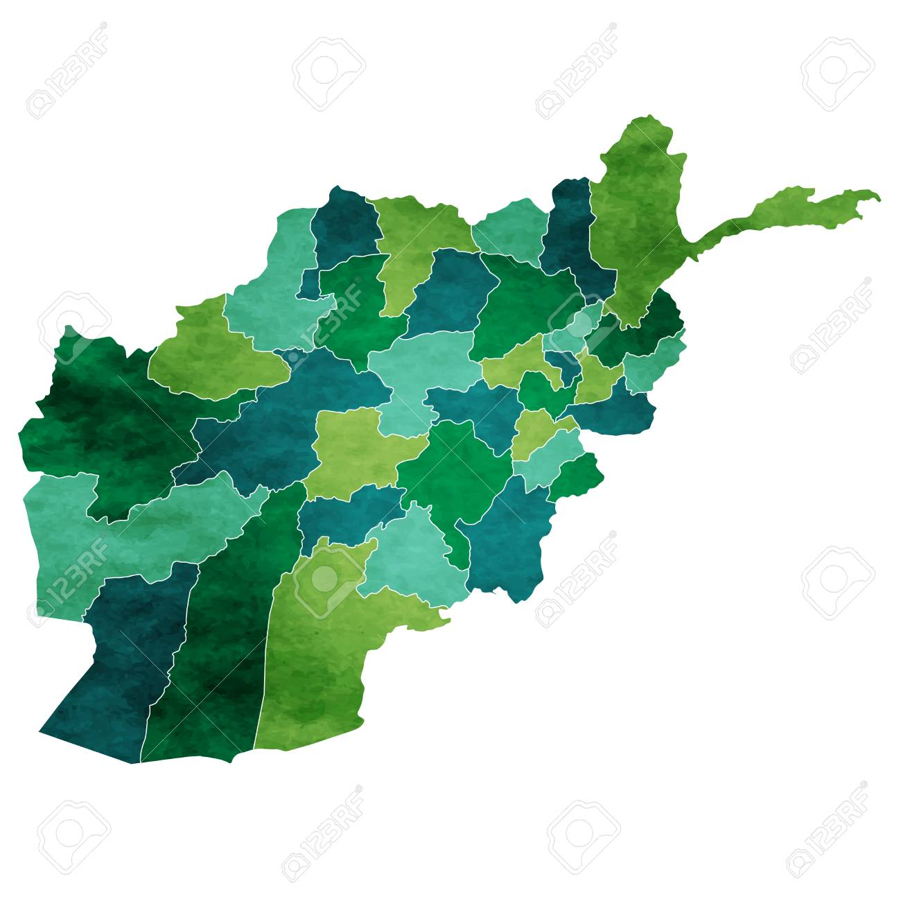 Afghanistan World map country icon