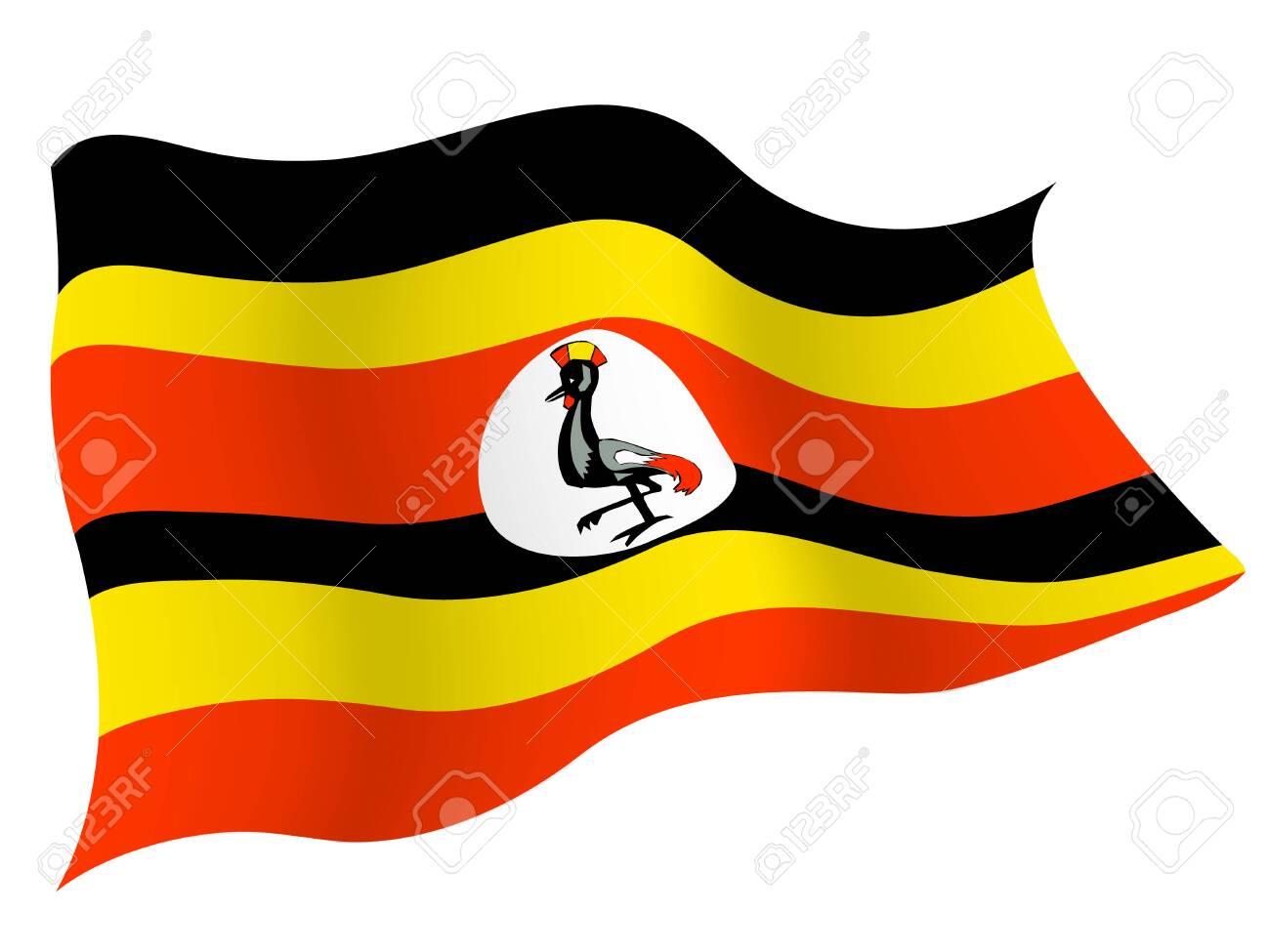 Country flag icon Uganda - 127475217