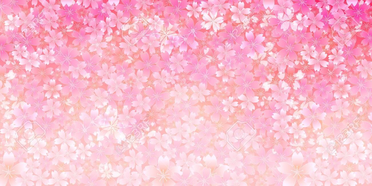 Cherry blossom Spring flowers background - 139737037