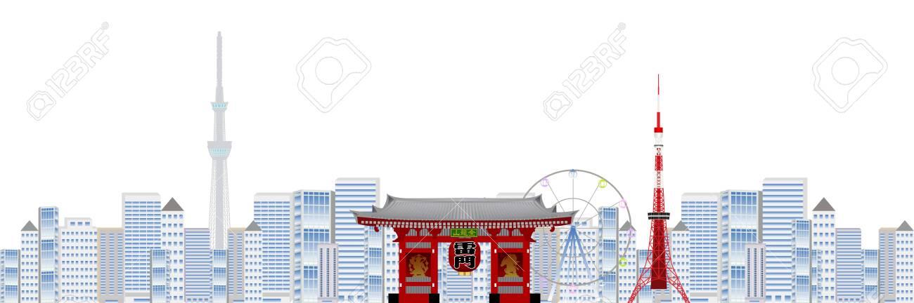 Tokyo Sky Tree Japan Background - 140162320