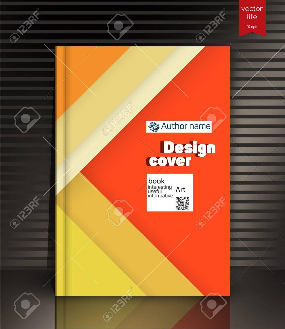 Blank Vertikale Hardcover-Buch-Vorlage Mit Roten Lesezeichen Auf ...