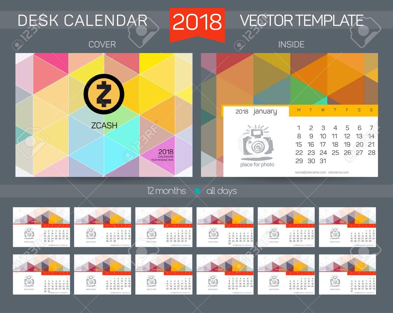 Calendar 2017 Design Desk Calendar 2017 Organizer For Business