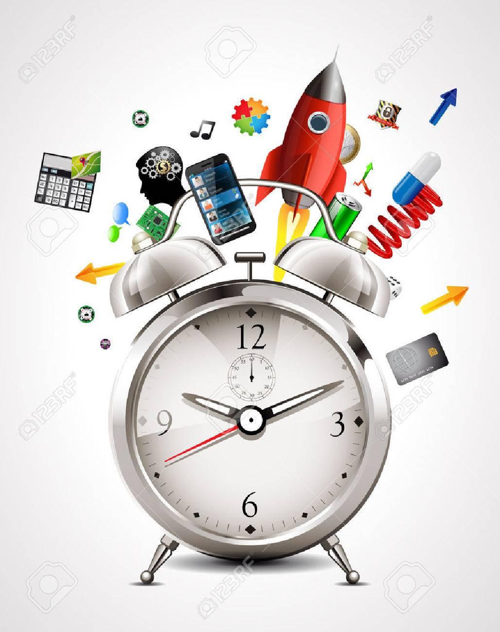 Alarm clock - time management - 47506354